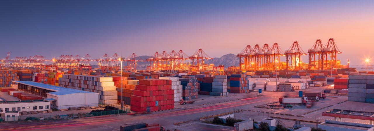 Industrial port Shanghai
